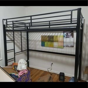 Other - Your zone twin size metal loft bed